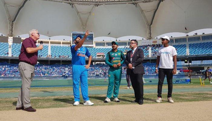 ایشیا کپ سپر فور،پاکستان کی بھارت کیخلاف ٹاس جیت کر بیٹنگ