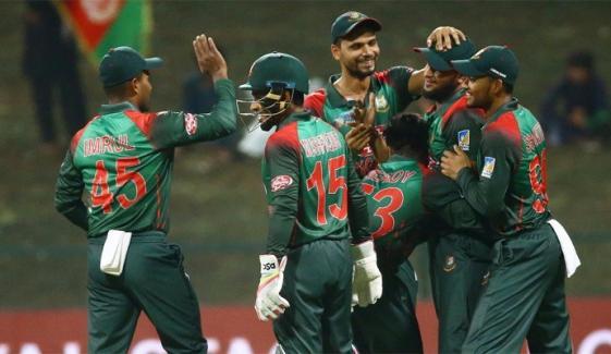 ایشیا کپ : بنگلادیش کامیاب، افغانستان کو شکست