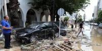 تیونس میں طوفانی بارشوں اور سیلاب کے باعث 5 افراد ہلاک