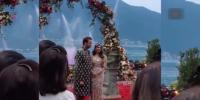 مکیش امبانی کی بیٹی ایشا امبانی کی منگنی کی تقریب