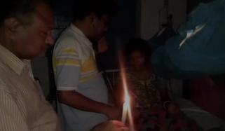 موم بتی کی روشنی میں علاج کرنے والا اسپتال