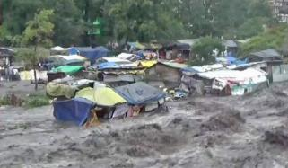 بھارت، شمالی ریاستوں میں بارش سے تباہی، 25افراد ہلاک