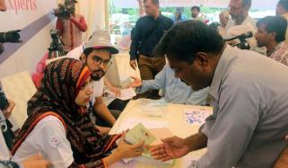 پریس کلب میں آغا خان یونیورسٹی کے تعاون سے امراض قلب کا کیمپ