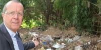 جرمن سفیر نے اسلام آباد میں کوڑے کے ڈھیر کی نشاندہی کردی