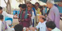 تھرپارکر: متاثرین سے پیسے لیکر امدادی گندم دینے کا انکشاف