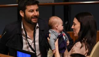 وزیراعظم نیوزی لینڈ ننھی بچی کے ہمراہ اقوام متحدہ پہنچ گئیں
