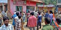 بی جے پی کی مغربی بنگال میں ہڑتال ،ٹرین سروس معطل