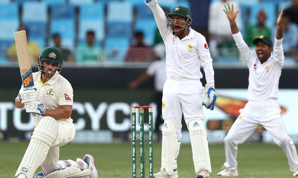 دبئی ٹیسٹ ،پاکستان کو جیت کیلئے آسٹریلیا کی 7 وکٹ درکار