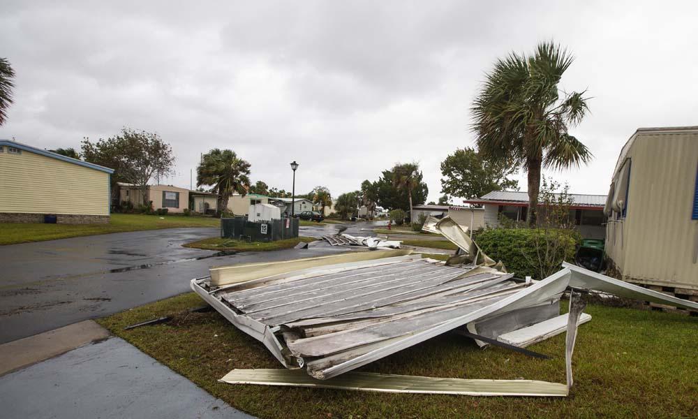 سمندری طوفان نے فلوریڈا میں تباہی مچادی،تصویری مناظر