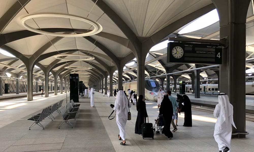 سعودی عرب، پہلی حرمین ٹرین کے ٹکٹوں کی فروخت
