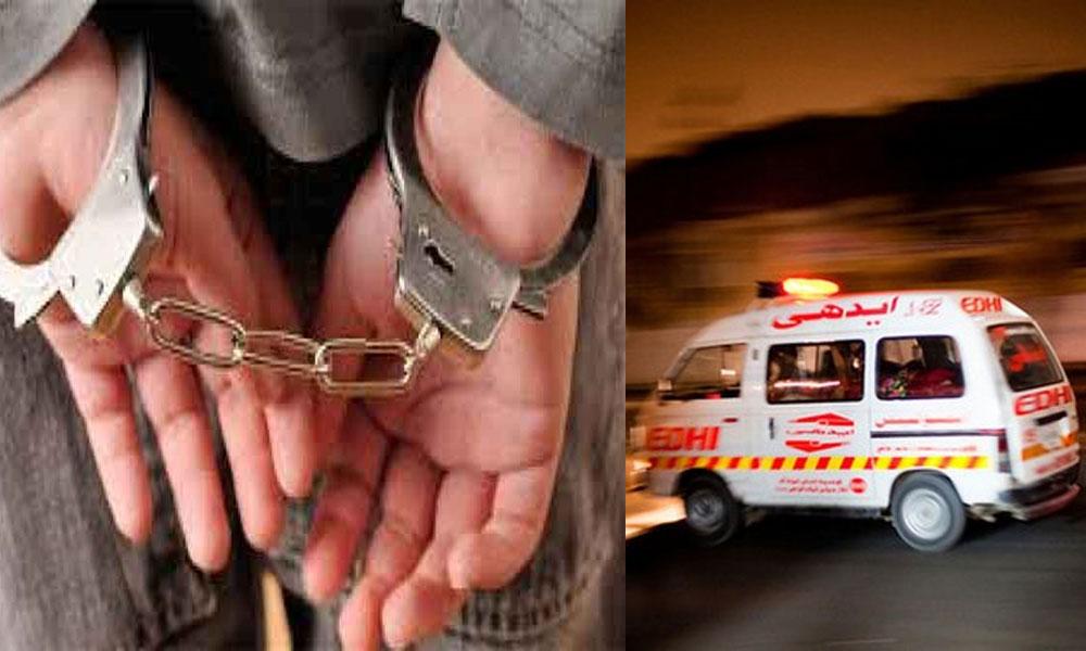 کراچی میں 2مبینہ پولیس مقابلے، اہلکار زخمی، 3ڈکیت گرفتار