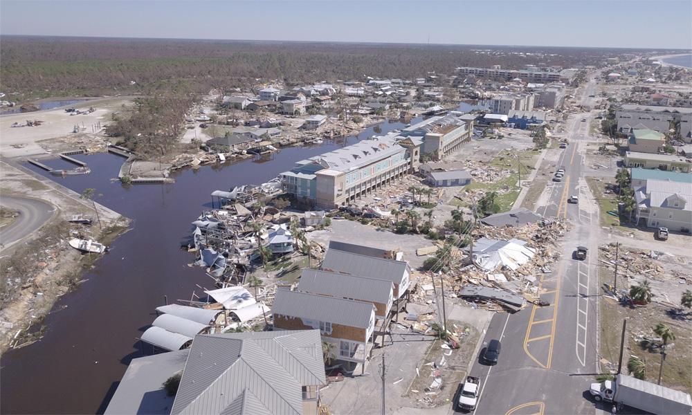 امریکا: سمندری طوفان 'مائیکل' سے ہلاکتوں کی تعداد 17 ہوگئی