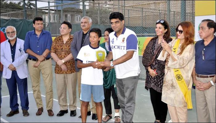 نیپالی کھلاڑی نے اے ٹی ایف اینڈ انڈر فورٹین کا ٹائٹل جیت لیا