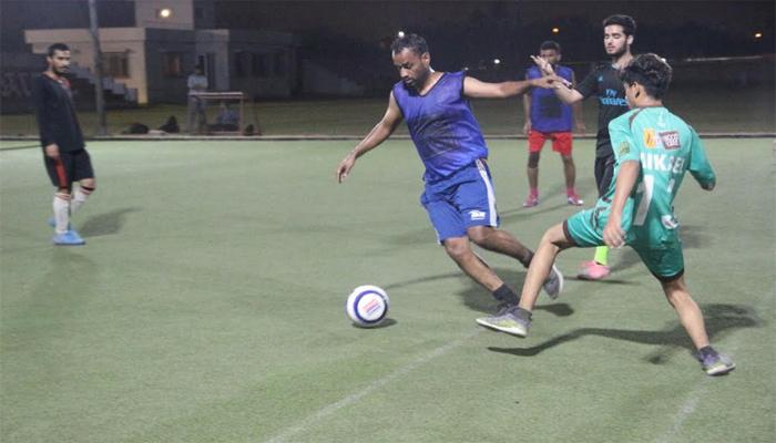 لیژر لیگس فٹبال میں عبدل ایف سی نے پہلی پوزیشن حاصل کرلی