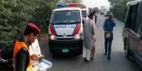 سرگودھا:وین اور بس میں ٹکر، 6طالبات جاں بحق