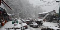 ملک کے بالائی علاقوں میں برفباری سے سردی میں اضافہ