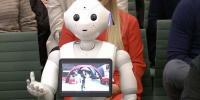 برطانوی پارلیمنٹ میں پہلی مرتبہ روبوٹ بطور گواہ پیش