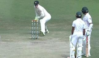 Azhar Ali Involved In One Of The Most Extraordinary Run Outs Ever Seen