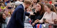 Hug From Prince Harry Leaves Royal Fan In Tears In Australia