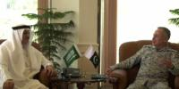 Saudi Ambassador Meets Pakistan Naval Chief