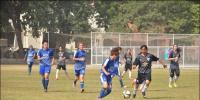 قومی ویمنز فٹبال چیمپئن شپ: ماریہ اور شمائلہ کی ہیٹ ٹرک