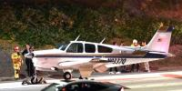 Plane Makes Emergency Landing On California Freeway
