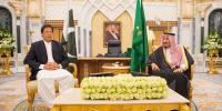 Saudi Arabia Pm Imran Meets Shah Salman