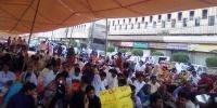 Karachi Nurses Theatened The Surround Of Cm House