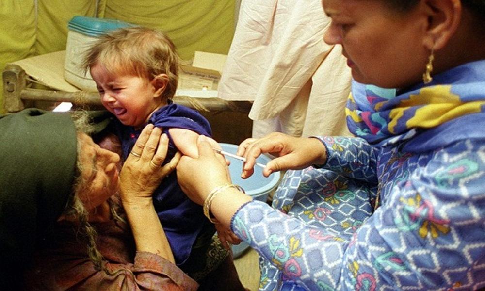 مانسہرہ کے افغان کیمپوں میں 3ہزار بچوں کو خسرہ کے ٹیکے لگائے جائینگے