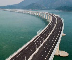 دنیا کے سب سے طویل پل کا افتتاح
