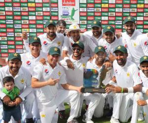 پاکستان کی آسٹریلیا کے خلاف سیریز میں شاندار فتح