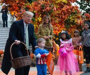 وائٹ ہاؤس میں ہیلووین پارٹی