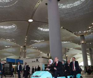 استنبول میں گرینڈ ائیر پورٹ کا افتتاح