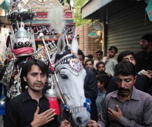 شہدائے کربلا کا چہلم عقیدت و احترام سے منایا گیا