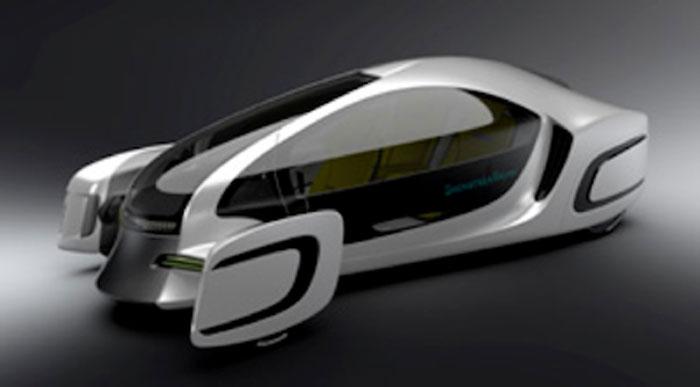 جاپانی ماہرین نے جدید ڈیزائن کی حامل پلاسٹک کار تیار کر لی