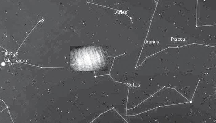 زمین کے قریبی مدار میں گرد کا بادل دریافت