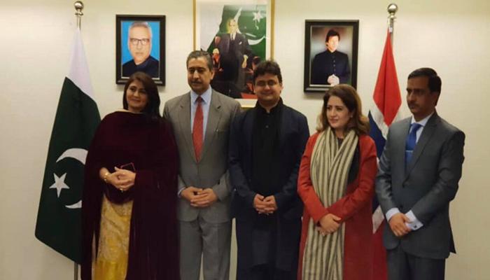 ناروے میں مقیم پاکستانی اپنے آبائی وطن سے محبت کرتے ہیں، ظہیر پرویز