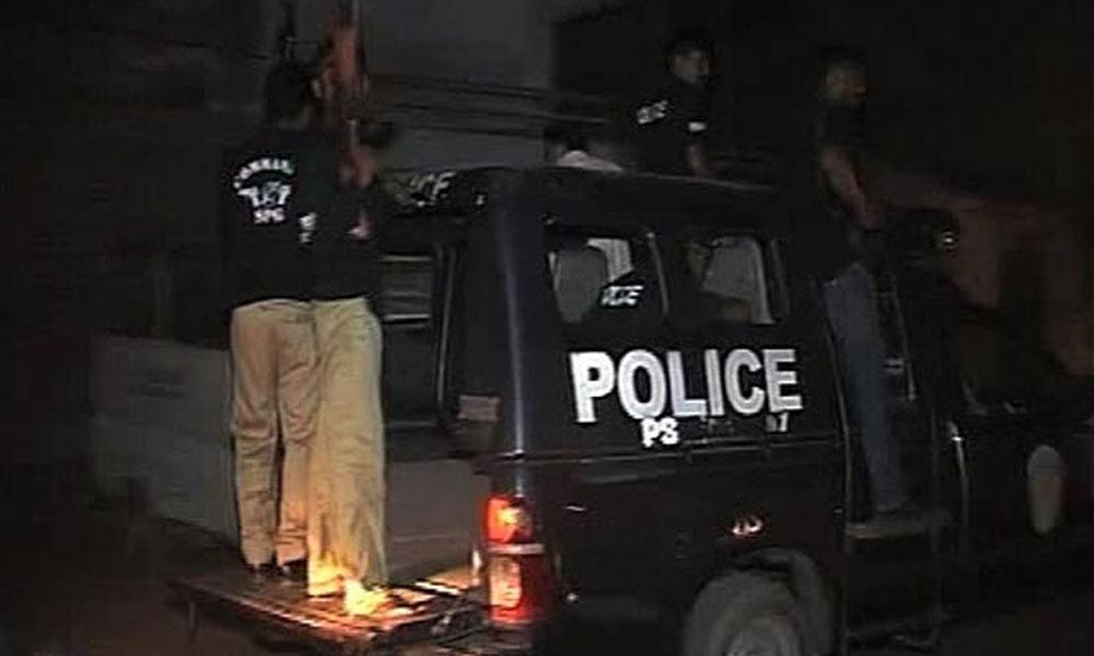 کورنگی، لیاری میں پولیس کی کارروائی، 6 ملزمان گرفتار