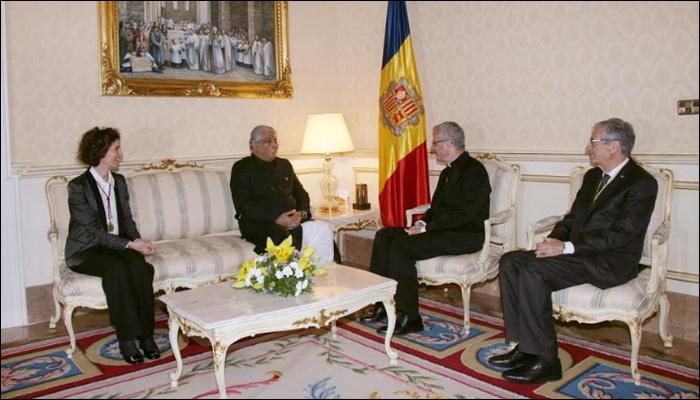 اسپین،سفیر پاکستان کی آندورا کے پرنس اور وزیر خارجہ سے ملاقات