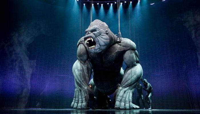 نیو یارک کے تھیٹر میں کنگ کانگ آگیا