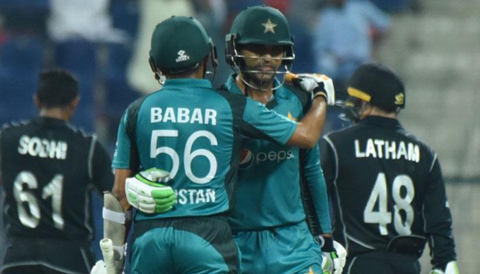 نیوزی لینڈ کو شکست، پاکستان نے سیریز برابر کردی