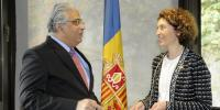 Spain Pakistani Ambassador Meets Prince And Minister Of External Affairs