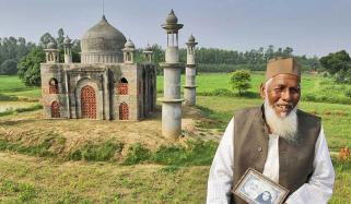 Man Who Built Mini Taj Mahal For Wife Dies In Road Accident