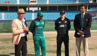 Pakistan Win Toss Choose To Bat First