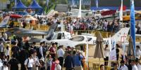 China Air Show Modern Weaponary And Aircraft Exibited