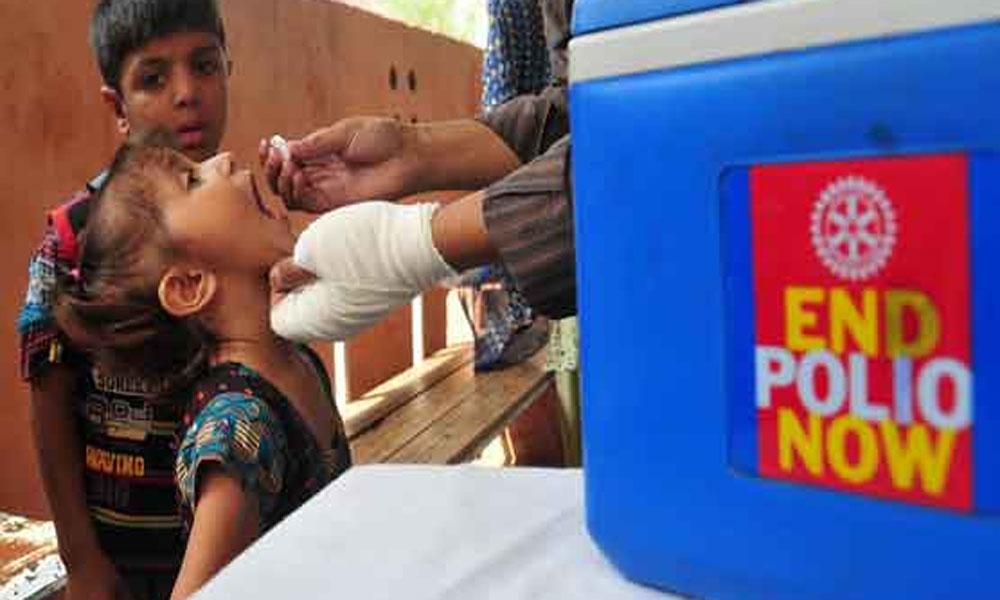 کراچی میں آج سے 8 روزہ انسداد پولیو مہم کا آ غاز