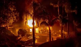 Terrible Fire In California 29 People Died