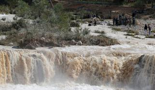 Floods Sink Jordan Life Disturb