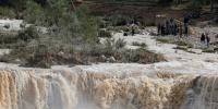 Floods Sink Jordan Life Disturb