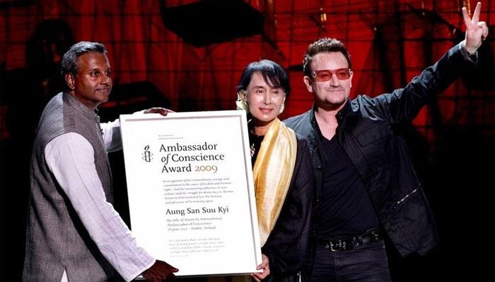 ایمنسٹی نے آنگ سان سوچی سے اعزاز واپس لے لیا